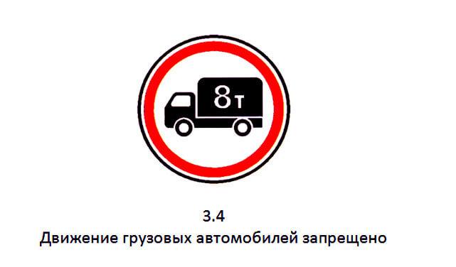 штраф пдд предусмотренный знаком 3 1