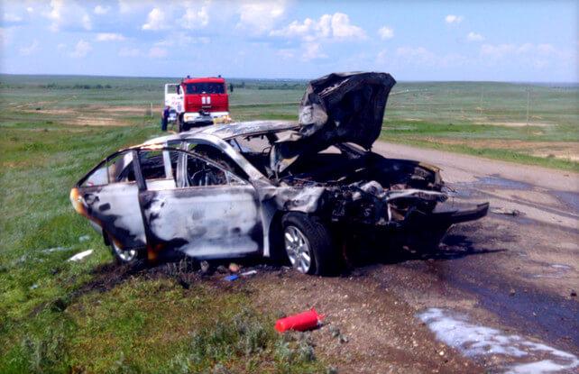 Возмещение ущерба в случае гибели авто