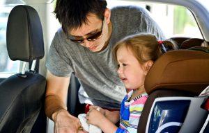 Правила перевозки ребенка в машине