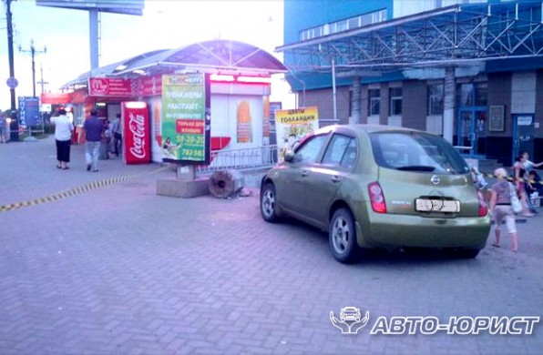 ДТП в Нижнем Новгороде, пьяный водитель пытался скрыться с места проишествия
